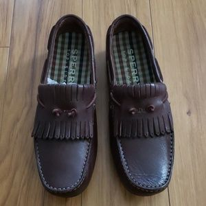 Sperry Fringe Driving Moc Shoe